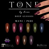 Tone 2  Deep Glosses Nails  (WEAR)