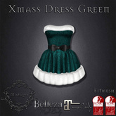 **Mistique** Xmas Dress Green (wear me and click to unpack)