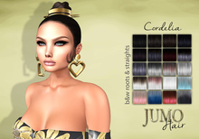 .:JUMO:. Cordelia Hair Black&Whites