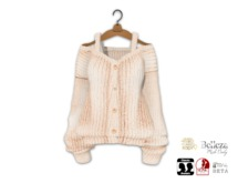 {amiable}Mesh Oversized Knit Cardigan11