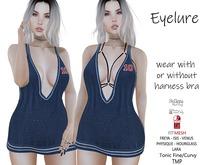 Eyelure Harness Dress & Bra  Navy10