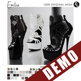 ::SG:: Emilia Shoes - DEMO - (Hud is only on purchased version)
