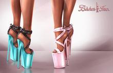 Bishes Inc BALLERINA Multi Hud Maitreya Belleza Slink Platform shoes