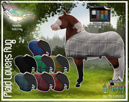 Plaid Lovers - Teegle Pony