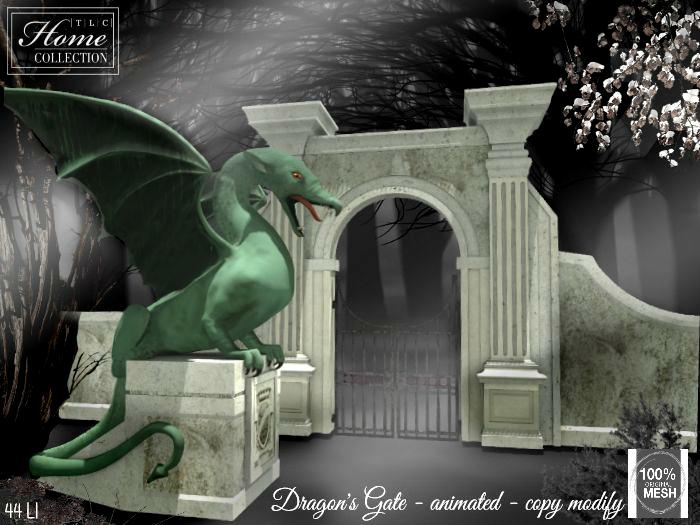 Dragon, Gate