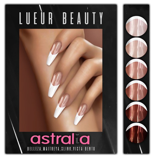 //L// - French Acrylics - ASTRALIA NAILS APPLIER