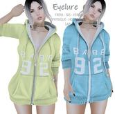 Eyelure BABE Zip Hoodie  2 Pack    Blueberry & Banana
