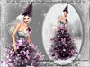 irrisistible : V2 MESH MAGIC PINK CHRISTMAS GOWN SCRIPTED + HAT