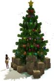"1 LI ""Mesh Christmas Tree Simple"" (mod, copy)"