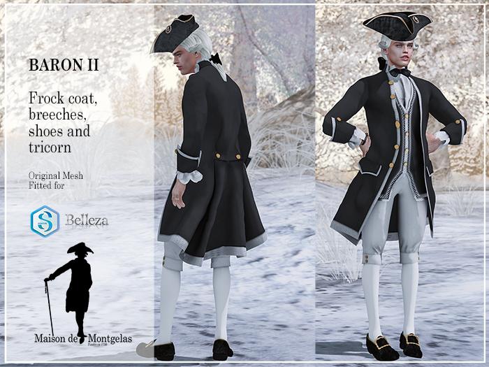 MdM - Frock Le Baron II - Basic black MP