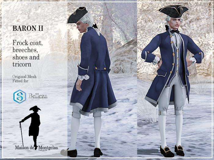 MdM - Frock Le Baron II - Basic blue MP