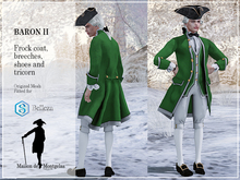 MdM - Frock Le Baron II - Basic green MP