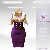 =AF= Eira Mesh Dress - Purple