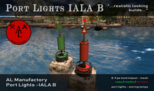 Port Lights IALA B - Summer SALE - 20 %