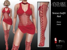 ANDARE - Teresa Outfit Red
