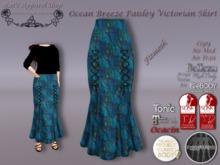 KAS-Fitmesh Ocean Breeze Paisley Victorian Skirt