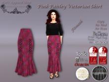 KAS-Fitmesh Pink Paisley Victorian Skirt