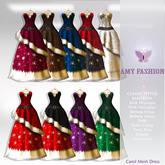 =AF= Carol Mesh Dress - FATPACK