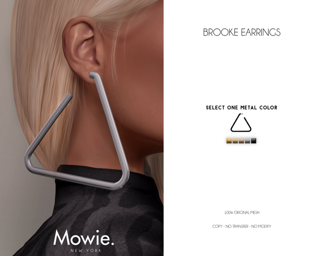 """Mowie. - """"Brooke"""" Earrings"""