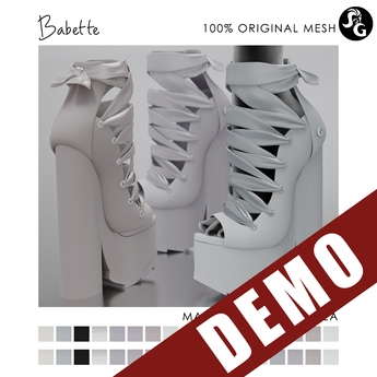 ::SG:: Babette Shoes - DEMO (Hud is only on purchased version)
