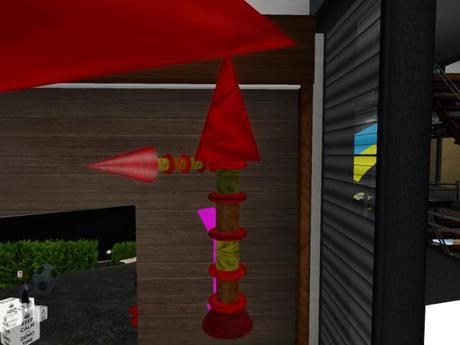 Small Flash Arrow Cone