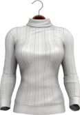 !APHORISM! Thyme Winter Sweater - White