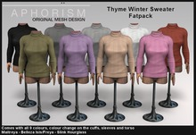 !APHORISM! Thyme Winter Sweater - Fatpack