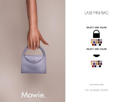 """Mowie. - """"Lase"""" Mini Bag"""