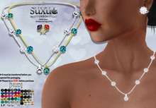[SuXue Mesh] FATPACK Cansu Necklace & Earrings Hud 56 Textures included Resizable