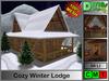 Cozy Winter Lodge