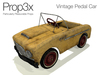 Prop3X Vintage Pedal Car Box