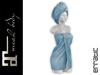 erratic / amara - bath towels / frost (maitreya)