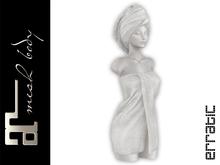 erratic / amara - bath towels / ivory (maitreya)