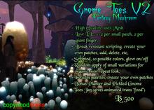 Gnome Toes V2 Set
