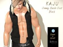 Kaju  - Jimmy Vest  - Suede Black