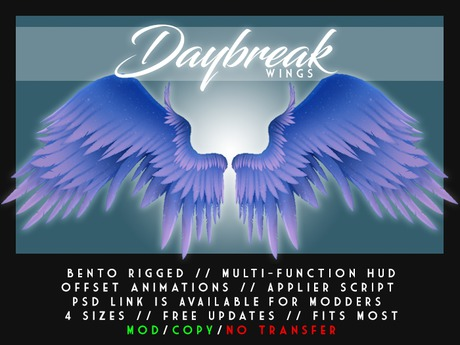 Visual Magick - Daybreak Wings