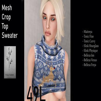 Blue  Ugly Sweater  Rudolf Box 12.3.18