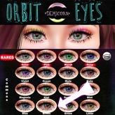 {Demicorn} Orbit Eyes - Brown