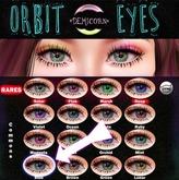 {Demicorn} Orbit Eyes - Blue