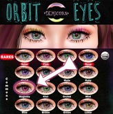 {Demicorn} Orbit Eyes - Magenta