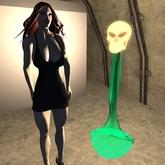 Alien Lamp Virilium 44B two lights in one :)