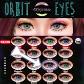 {Demicorn} Orbit Eyes - Orchid