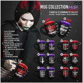 [ Conviction ] Mug Collection - 12 - COMMON