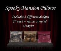 {.Gross Princess.} Spooky Mansion Pillows *Retiring*