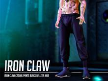 IRON CLAW Casual Pants (Black) Belleza Jake