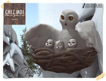 Owl Family ♥ CHEZ MOI