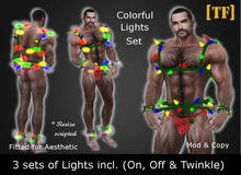 AE - COLORFUL LIGHTS SET [TF] - [Wear to Unpack]