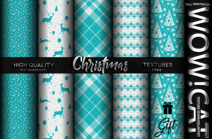TEXTURE WOW!CAT SPECIAL CHRISTMAS GIFT PACK 47
