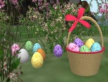 Easter eggs + Easter basket  (FULL PERM!)