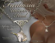 Fantasia Unicorn Necklace (boxed)